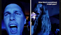 Tom Brady Belts Out Songs With Gisele At U2 Concert