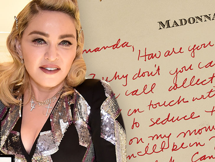 madonnas love letter to justify my love music vid model up for auction tmzcom