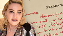 Madonna's Love Letter to 'Justify My Love' Music Vid Model Up for Auction