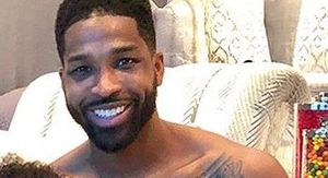Tristan Thompson Posts 1st Photo Of True With Her Brother & He's Kissing Her