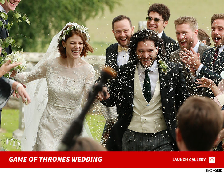 Game Of Thrones Stars Kit Harington And Rose Leslie Wed In Scotland