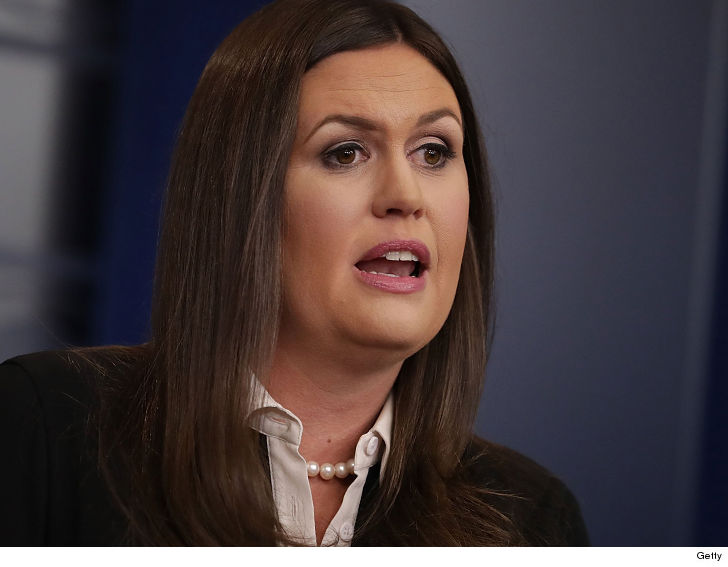Sarah Sanders: Restaurant kicked me out because of Trump
