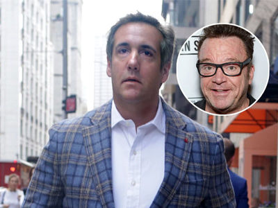 See What Michael Cohen Said About Working With Tom Arnold To 'Take Trump Down'