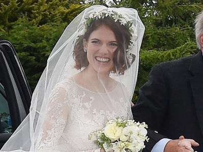 Rose Leslie and Kit Harington Are Married! See Photos of 'Game of Thrones' Stars' Wedding