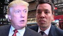 Donald Trump Tells Jimmy Fallon to 'Be a Man'