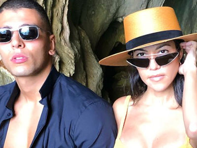 Kourtney Looks INCREDIBLE In a Bikini on PDA-Filled Vacay with Younes Bendjima