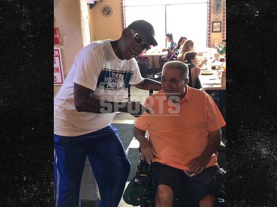 Dennis Rodman Surprises Man at Restaurant with 'Happy Birthday' Song