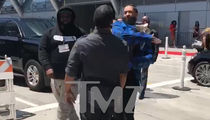 Nipsey Hussle Slaps Guy Outside BET Awards in Parking Dispute