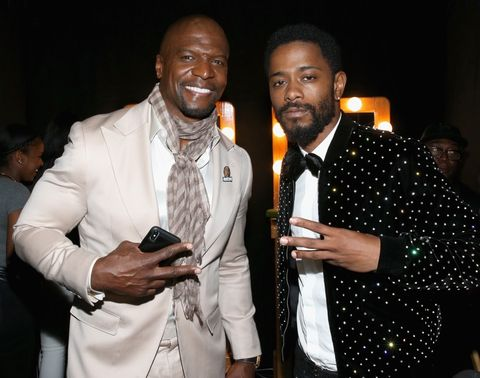 Terry Crews and Lakeith Stanfield