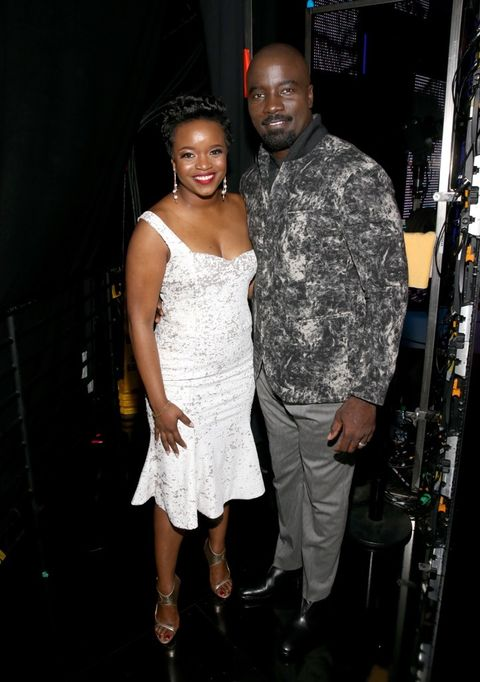 Brittany Packnett and Mike Colter
