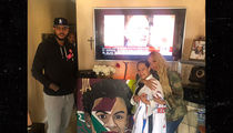 Carmelo And La La Anthony Visit Family Of Slain Bronx Teen