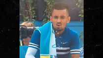Tennis Star Nick Kyrgios Gets Stiff Fine For Masturbating Water Bottle