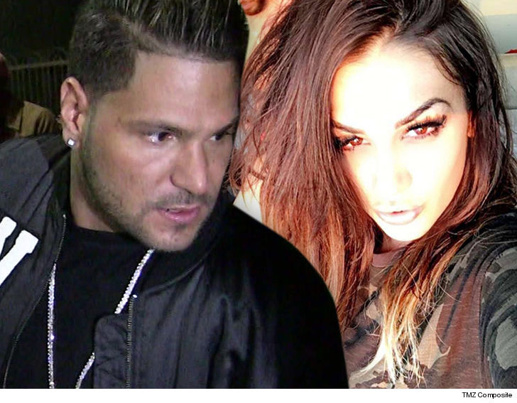 'Jersey Shore' star's ex-girlfriend arrested in Vegas fight