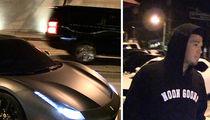 NBA's Devin Booker Flashes Baller Ferrari in L.A.