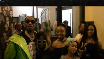Quavo Celebrates with Mom After Winning BET Award