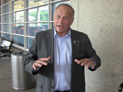 Rep. Steve King Says America's Political Nastiness is Obama's Fault, NOT Trump's
