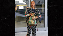 Jeremy Meeks Wears Gucci from Head to Toe Arriving in L.A.