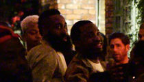 James Harden Parties with Meek Mill After MVP Win