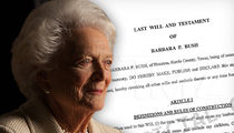 Barbara Bush's Will Puts George H.W. Bush and 2 of 5 Kids in Control