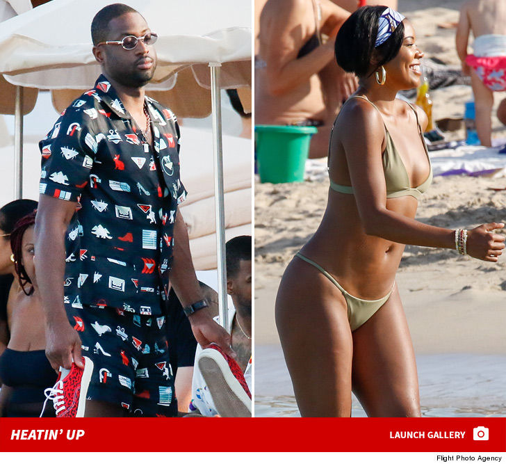 Gabrielle Union looks UNREAL -- flaunting her insane physique during a  beach trip to Ibiza with that guy she's married to ... and the photos are  awesome!