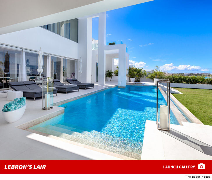 Perfect While LeBron James Decides Where Heu0027s Playing Next Season, Heu0027s Been  Balling Out In His Own Private Mansion In Anguilla ... At A Place That Runs  $75 GRAND A ...