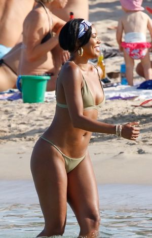 Dwyane Wade and Gabrielle Union -- Heatin' Up in Ibiza