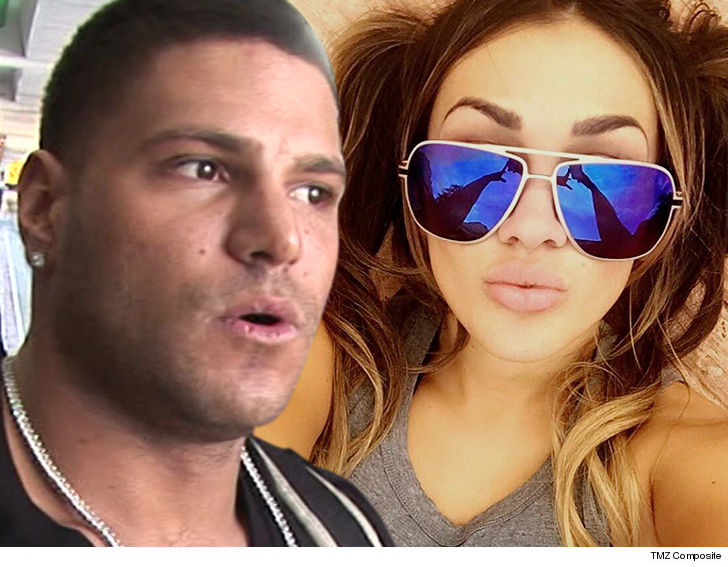'Jersey Shore' Ronnie Gunning For Custody After Ex-GF Assault