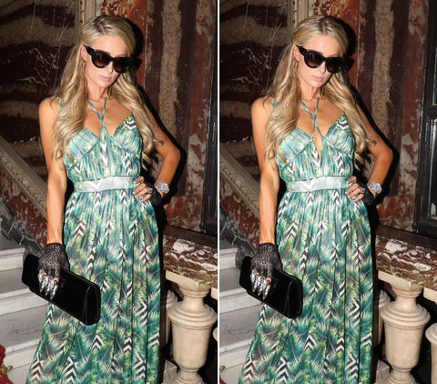 Can you spot the THREE differences in these Paris Hilton photos?