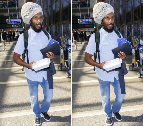 Can you spot the THREE differences in these Ziggy Marley photos?