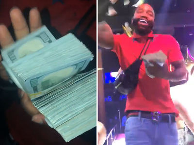 Adrien Broner Throws Fortune at Strip Club, Is That $100,000?!