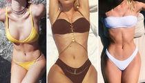Aerial Bikini Bods -- Guess Who!