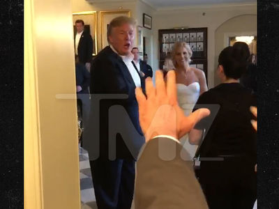 Donald Trump's Back to Crashing Weddings at Golf Club in New Jersey