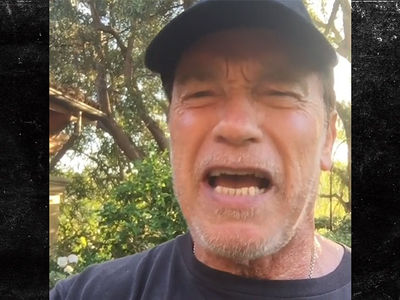 Arnold Schwarzenegger Welcomes LeBron to L.A., 'I Love It'