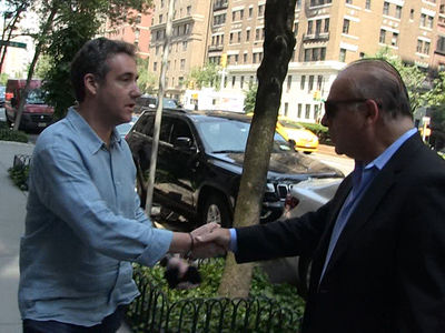 Trump Attorney Michael Cohen Gets 'Rat' Warning and Support on NYC Streets