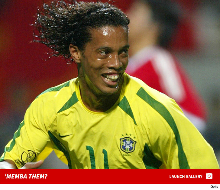 Brazilian Forward Ronaldinho Gaucho Gained Fame For Fronting Euro Teams Paris Saint Germain Barcelona And Milan But Is Most Notably A Member Of The