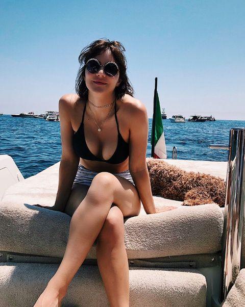 Katharine McPhee in Capri, Italy