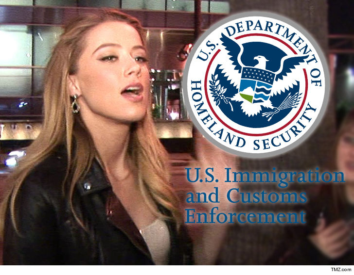 Amber Heard Sparks Backlash for Warning of ICE Checkpoint in Hollywood
