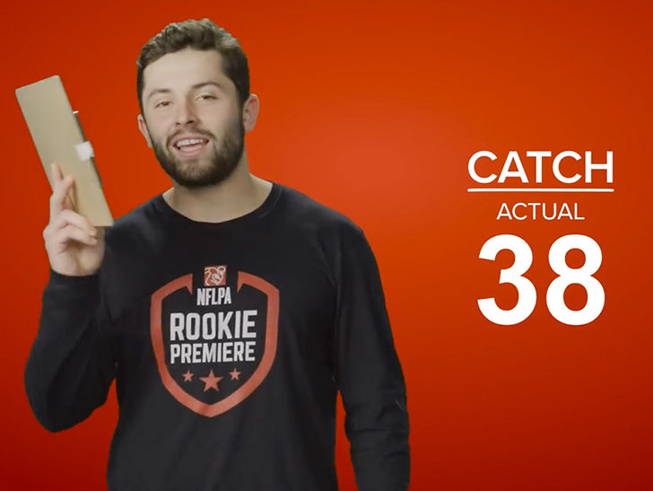 f8721fbedfb Baker Mayfield Shades Ex-OU Teammates In Hilarious Complaint Over Madden  Rating