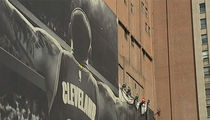 LeBron James Banner Coming Down In Cleveland