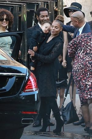 The Jackson Family After Private Funeral