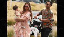 Chrissy Teigen and John Legend Take Kids for Outing in Malibu