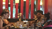 'Jersey Shore' Ronnie Ortiz-Magro Eats With Baby and Baby Mama Jen Harley