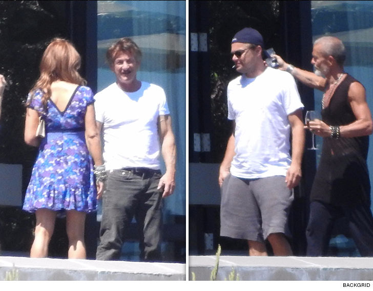 Leonardo DiCaprio and Sean Penn Co-Host 4th of July Day Party
