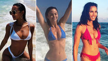 Bikini Babes Makin' Waves -- For Shore!