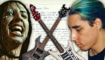 Marilyn Manson Founding Member Auction Includes Guitars & Sheet Music