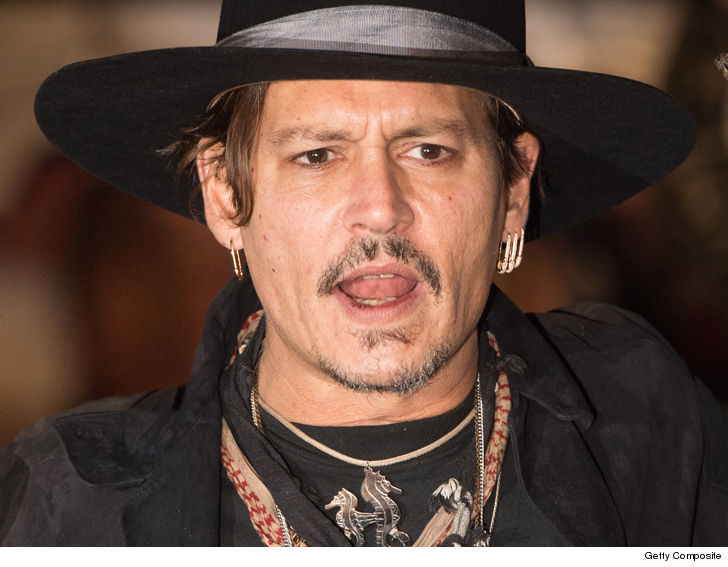 Johnny Depp sued by crew member he 'punched' on Biggie Smalls film