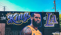 LeBron James Already Has a Mural in Los Angeles