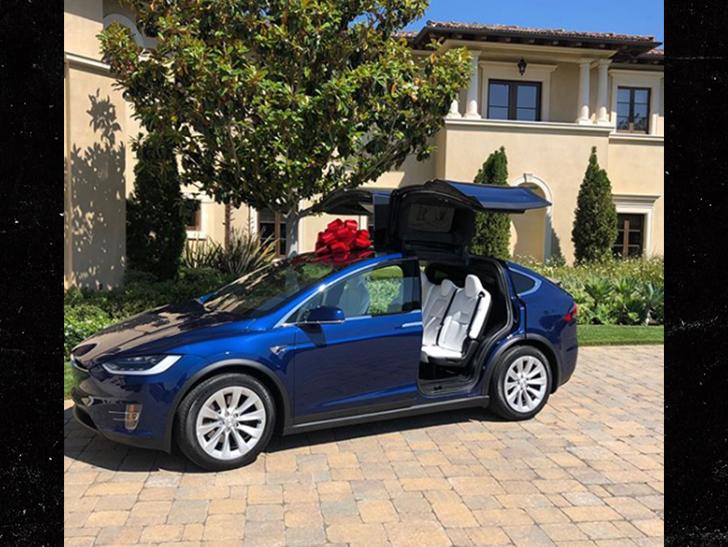 Tyler Perry Buys Tiffany Haddish a Brand New Tesla