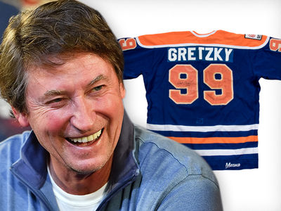 Wayne Gretzky NHL Rookie Jersey Hits Auction Block, Could Fetch $400k!!