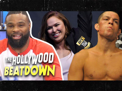 Tyron Woodley Says He's A Lock for UFC Hall of Fame, Nate Diaz Is Not